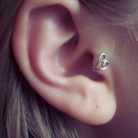 *new* heart tragus cuff from Wild Ivy Design