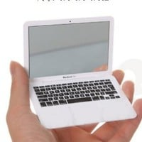 Mini Macbook Air Style Portable Mirror/ Apple Notebook Creative Make up Mirror
