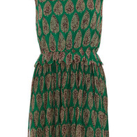 Green skater dress - Fit & Flare Dresses  - Dresses
