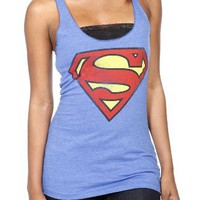 DC Comics Superman Logo Girls Tank Top Plus Size 3XL