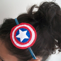 Cap Shield Headband