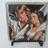 Luke Skywalker and Princess Leia Coaster