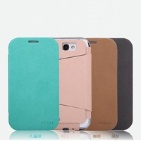 Leather Flip Case for Galaxy Note 2 N7100