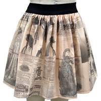 Steampunk Fashion Full Skirt