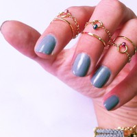 Above The Knuckle Rings - Gold Plat.. on Luulla