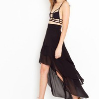Tiered Tail Skirt - NASTY GAL