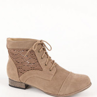 Charles Albert New Crochet Detail Bite Boots at PacSun.com