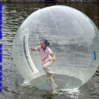 Inflatable Water Ball - 7 Foot - Clear