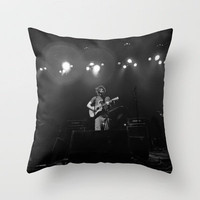 Ed Sheeran (B&amp;W) - Live in Philly Throw Pillow by Chris Klemens | Society6