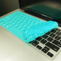 TopCase Solid TEAL Keyboard Silicone Cover Skin for Macbook 13