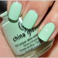 China Glaze up &amp; Away Collection: Re-fresh Mint #867/80937