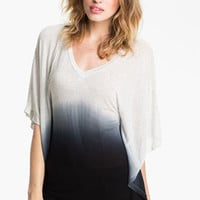 Young, Fabulous & Broke 'Chloe' Ombré Cape Top | Nordstrom