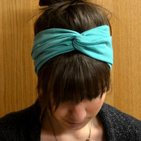 Turquoise Turban Headband