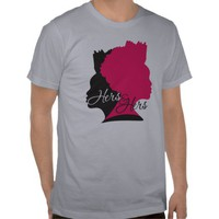 Hers and Hers Logo Tee from Zazzle.com