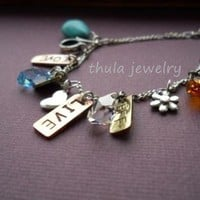 Mothers Day Gift Charm Bracelet Cop.. on Luulla