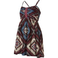 Billabong Women's Davenport Sun Dress - Crushed Berry S