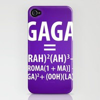 Gaga Equation iPhone Case by Danielle Furman | Society6