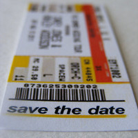 Rockstar savethedates request by TaylorEtchison on Etsy