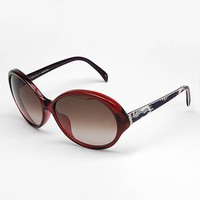 Emilio Pucci Red Round Sunglasses, Le Chic