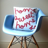 Home Sweet Home Cushion by AuntyCookie on Etsy
