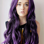 Hot Sale Top Quality Amazing Long Wavy Purple Wig for Cosplay: wigsbuy.com