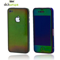 Get the Original SlickWraps Apple AT&T/ Verizon iPhone 4, iPhone 4S Protective Skin - Mood Ring and all your iPhone 4/ 4S accessories w/ Free Shipping! AccessoryGeeks.com