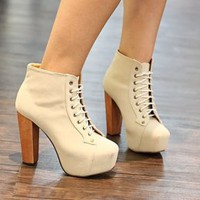 White Drawstring Ladies Pumps Hot Sale : Wholesaleclothing4u.com