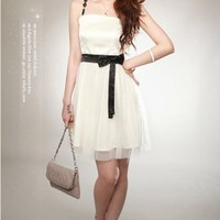 Wholesale YOCO Fashion Belted Fit Party Dress