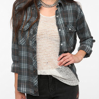 byCORPUS Burnout Flannel Shirt