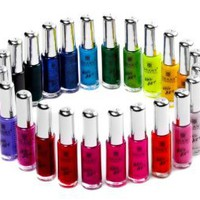 SHANY Nail Art Set (24 Famouse Colors Nail Art Polish, Nail Art Decoration): Beauty