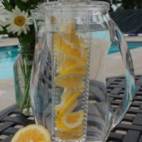Prodyne Fruit Infusion 93-Ounce Natural Fruit Flavor Pitcher: Amazon.com: Kitchen & Dining