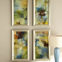 "Four ""Skyliner"" Prints - Horchow"