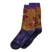 Amazon.com: Smartwool Women's Camel Heather Pinwheel Garden Medium B(M) US: Clothing