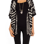 Triangle Aztec Cardigan - 2020AVE