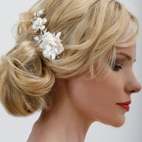 Regina B. -- T528 Elegant Evening Vine with Pearls | Bridal Hair Accessories