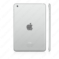 iPad Mini Sparkling Silver Apple Overlay