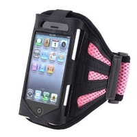 Amazon.com: eForCity PINK SPORT GRM ARMBAND CASE COVER Compatible With iPhone® 3GS 4G iPhone® 4S - AT&T, Sprint, Version 16GB 32GB 64GB: Cell Phones & Accessories