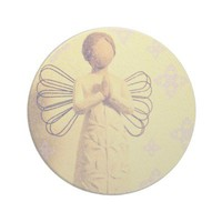 Among Angels Coaster from Zazzle.com