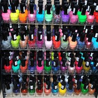 Amazon.com: 48 Piece Rainbow Colors Glitter Nail Polish Lacquer Set + 3 Scented Nail Polsih Remover: Health & Personal Care