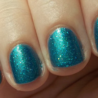 Teal Deer - Handmade Nail Polish (Mini)