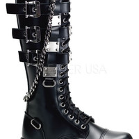 Gravel-23, womens Steampunk boots Demonia