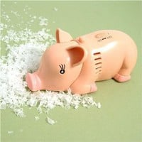 Animal Mini Tabletop Vacuum - Pig: Home & Kitchen