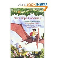 Magic Tree House Boxed Set, Books 1-4: Dinosaurs Before Dark, The Knight at Dawn, Mummies in the Morning, and Pirates Past Noon: Mary Pope Osborne, Sal Murdocca: 0090129015962: Amazon.com: Books