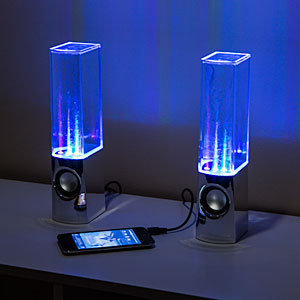 Light Show Fountain Speakers
