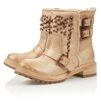 **Star Lily Biker Boots by CJG - Boots  - Shoes