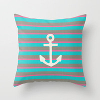 STAY II Throw Pillow by Bianca Green | Society6