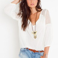 Jardin Lace Blouse - NASTY GAL