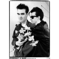 Amazon.com: (24x33) Morrissey & Johnny Marr (The Smiths) Music Poster: Home & Kitchen