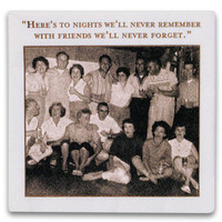 The Spoon Sisters Paper Napkins - Here's to nights we'll never remember