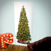 Printed Christmas Tree Poster at Firebox.com
